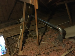 Wichita Falls Home Inspection; Premier Choice Inspections; Improper Dryer Vent Installation