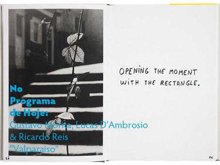 "No Programa de Hoje: Gustavo Morita, Lucas D'Ambrosio & Ricardo Reis - ""Valparaiso"""