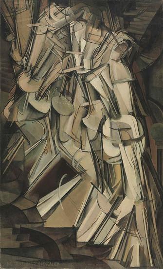 Duchamp - Nu Descendo Escada