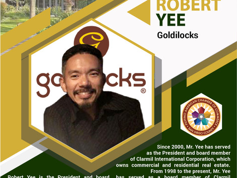 INSIGHT IN THE RANCH - San Diego Filipino-American business leader, Robert Yee of Goldilocks to shar