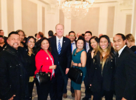FilAm business leaders represent at Mayor Faulconer's 2018 State of the City Address