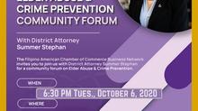 Elder Abuse & Cyber Crime Community Forum