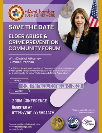 Elder Abuse & Cyber Crime Community Forum