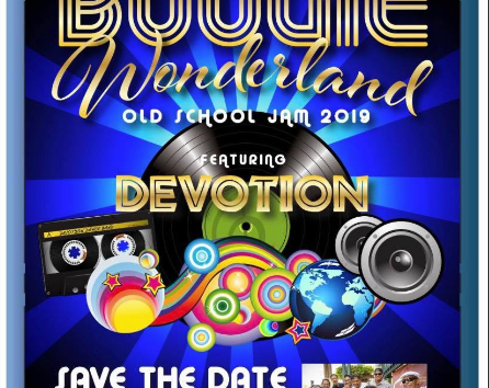 Siliyan Filipina presents BOOGIE WONDERLAND old school jam 2019