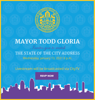 MAYOR TODD GLORIA 2021 State of the City Address