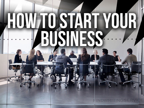 Start-up Series: Getting Ready to Start Your Business