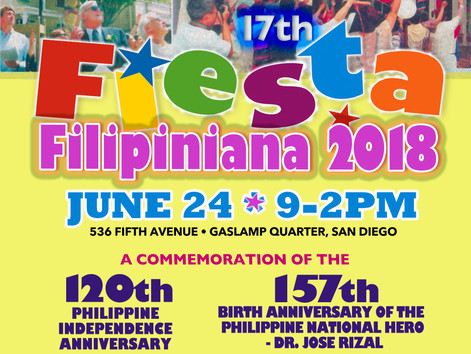 17th Fiesta Filipiniana 2018