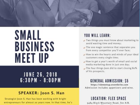 D6 Small Business Meet Up