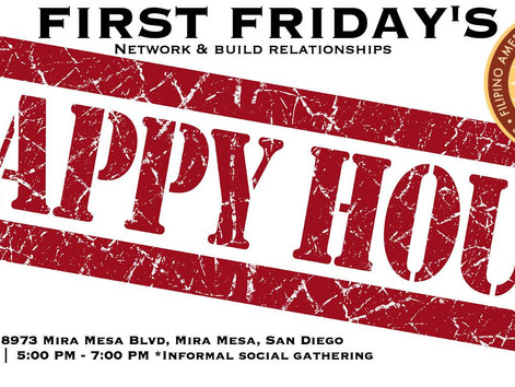 First Friday's at Happy Sushi!