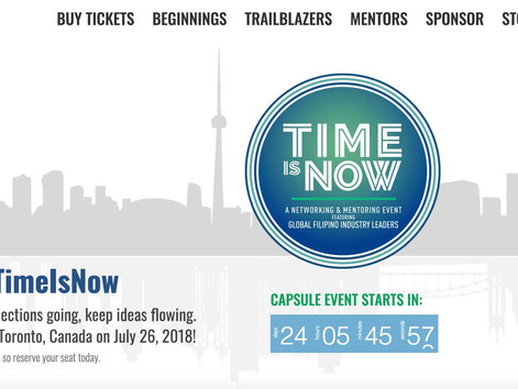 PHTimeIsNow Toronto 5-Course Dinner & Networking | Connecting | Collaborating