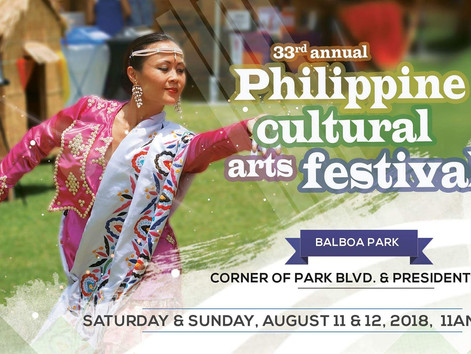 33rd Philippine Cultural Arts Festival in Balboa Park, San Diego
