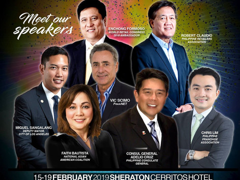 Meet the FRTC of CoFACC's, 2019' Franchising & Retail Trade Conference Cerritos in Los A