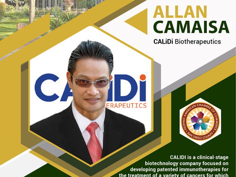 INSIGHT IN THE RANCH - San Diego Filipino-American business leader, Allan J. Camaisa to share entrep