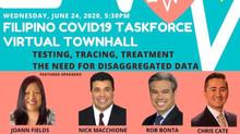 Filipino Covid-19 Task Force Town Hall