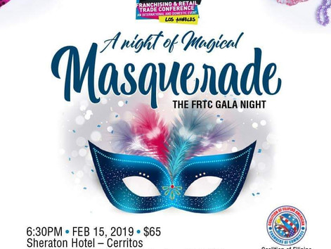 Your Invited To A Night of Magical Masquerade | The FRTC Gala Night.
