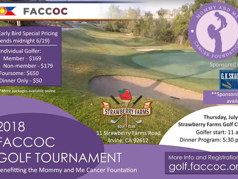 FACC-OC Orange County Annual Golf Tournament