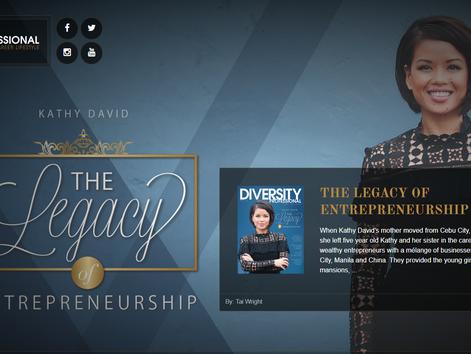 THE LEGACY OF ENTREPRENEURSHIP  Business Career Lifestyle