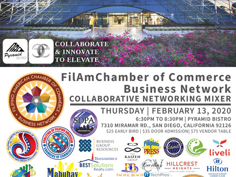 FilAmChamber Networking Mixer & Taal Volcano Relief Fundraiser