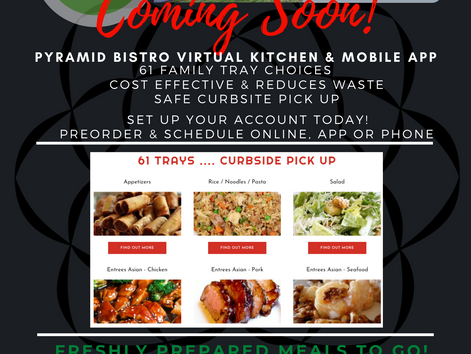 Pyramid Bistro Launches Virtual Kitchen with Chef Tress Balch To Serve Cost Effective Family Meal Tr