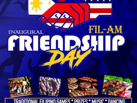 Inaugural FilAm Friendship Day