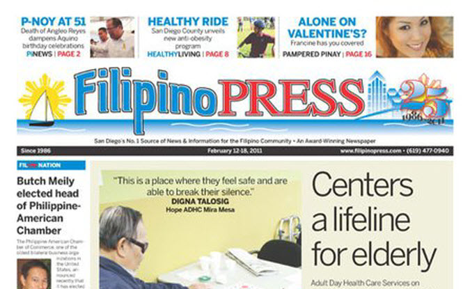 filipino press