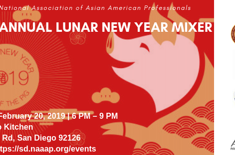FilAmChamber 2.0 San Diego Joins NAAAP SD for a Collaborative Lunar New Year Business Mixer!