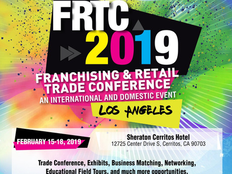 NOW OPEN REGISTRATION CALL TO ACTION DELEGATES &  SPONSORS: Franchising Retail & Trade Conf