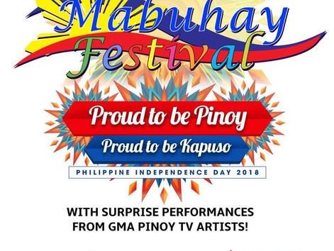 Mabuhay Festival 2018!
