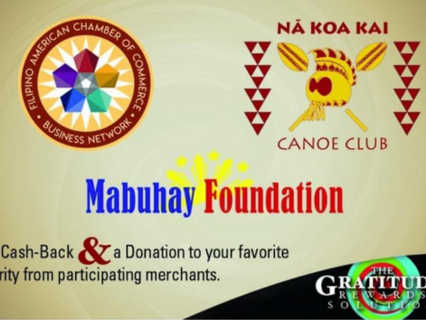 Giving back to charity made as easy as 1. 2. 3. Made Possible by FilAmChamber Business Network 2.0