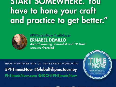 #PHTimeIsNow with Ernabel Demillo