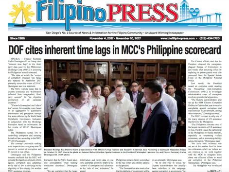 Hot Off the, Filipino Press | Nov. 4, 2017