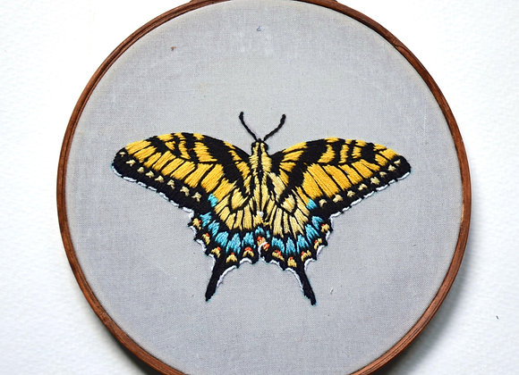Yellow Swallowtail Hoop