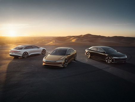 LUCID MOTORS TO GO PUBLIC TO REDEFINE LUXURY, PERFORMANCE AND EFFICIENCY.