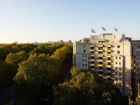 2021 LUXURY TRAVEL: NUMBER 1 HOTEL IN LONDON - THE DORCHESTER