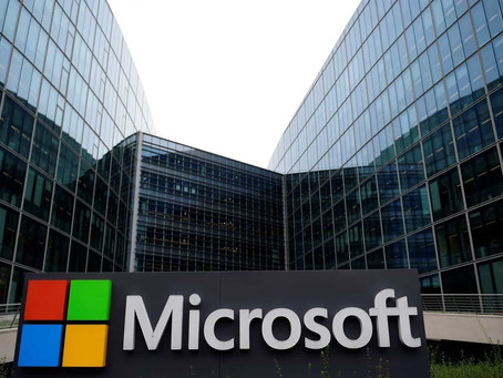 MICROSOFT ANNOUNCES PLANS TO BECOME CARBON NEGATIVE BY 2030
