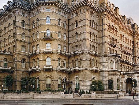 2021 LUXURY TRAVEL: NUMBER 3 HOTEL IN LONDON - THE LANGHAM