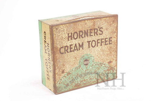 Horner's toffee tin