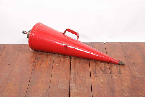 Conical fire extinguisher