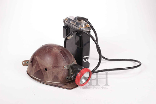 Battery operated hat light