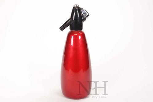 Soda syphon red
