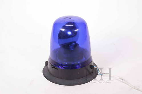 Police blue light