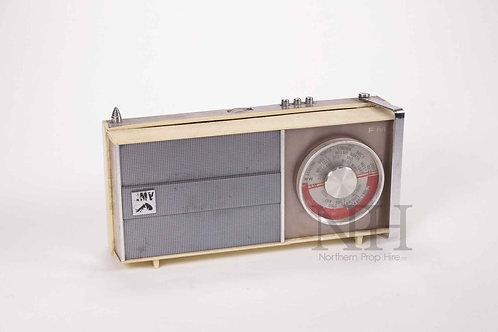 HMV portable radio