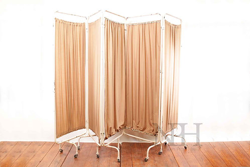 Brown and cream screen