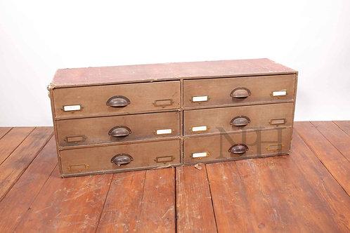Stationary drawers