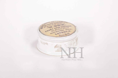 Hair cream pot