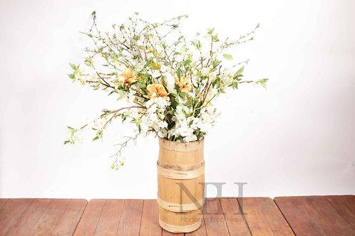 Tall floral display