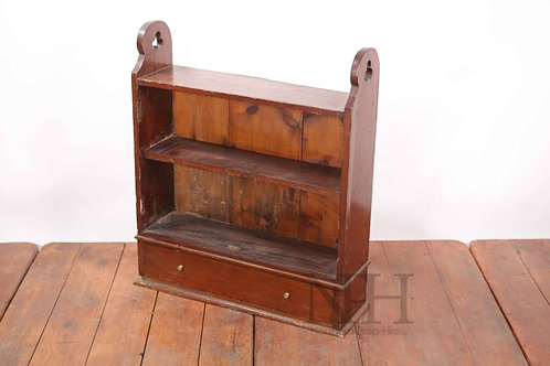 Bookcase with draw