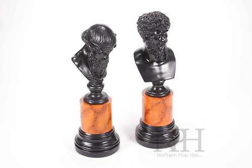Small Classical busts