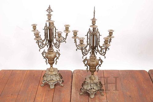French candelabra