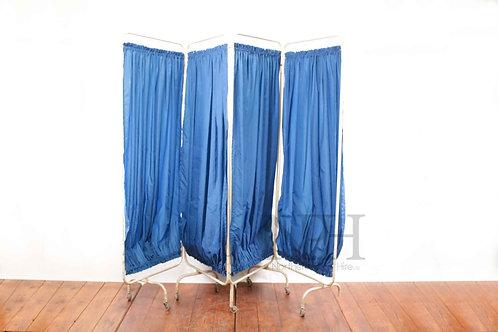 Blue and cream screen